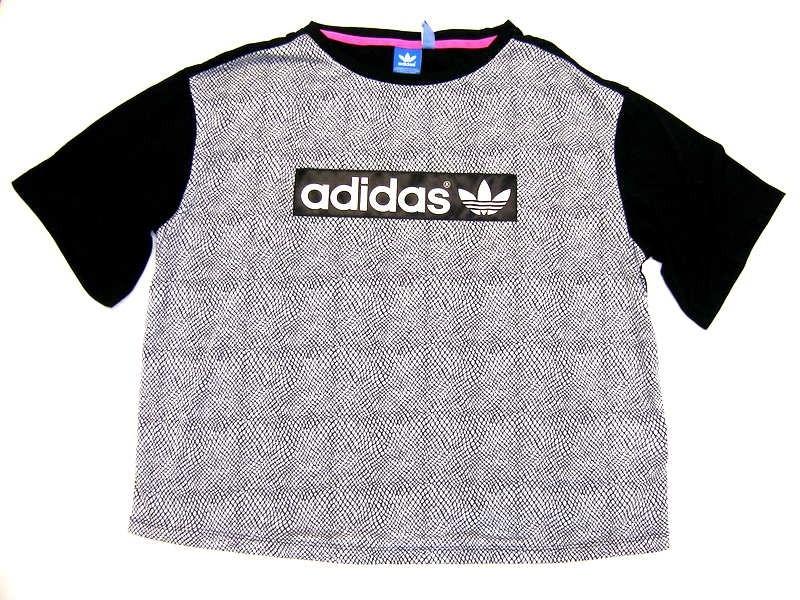adidas Originals. BOX LOGO TEE Dámské tričko 0a3bc84cf64