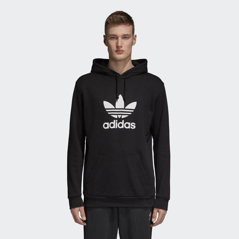 adidas Originals. TREFOIL HOODIE Pánská mikina 5a9a1de5c08